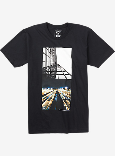 Analog PLA Perspectives Short Sleeve T Shirt shown in Black