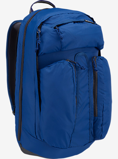Burton Curbshark Backpack shown in True Blue Honeycomb