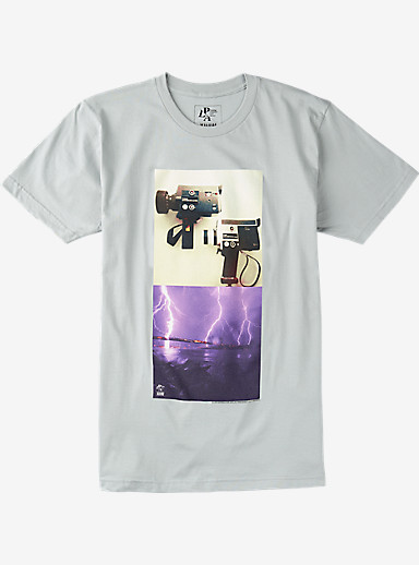 Analog PLA Quick Strike Short Sleeve T Shirt shown in New Silver