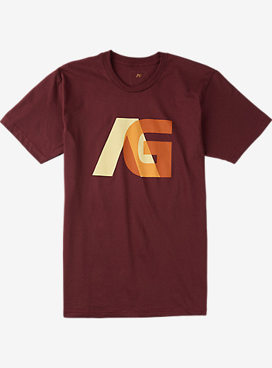 Analog Overlay Short Sleeve T Shirt shown in Oxblood