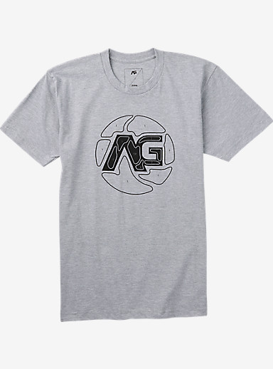 Analog Bullseye Short Sleeve T Shirt shown in Athletic Heather