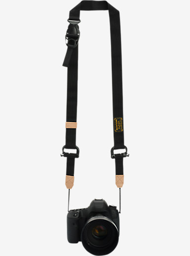 Burton Trooper Camera Strap shown in True Black