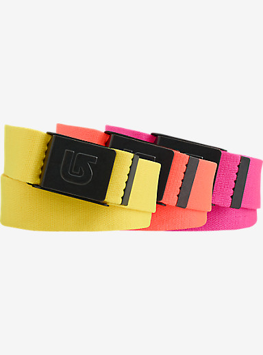 Burton Process Vista Belt 3 Pack shown in Assorted