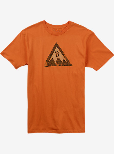 Burton Retro Logo Slim Fit Short Sleeve T Shirt shown in Maui Sunset
