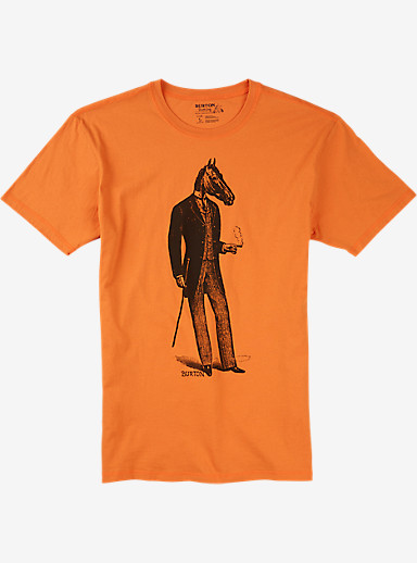 Burton Gentle Horseman Slim Fit Short Sleeve T Shirt shown in Maui Sunset