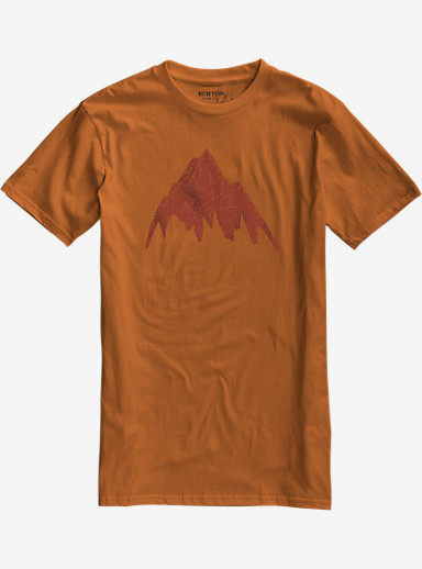 Burton Topo MTN Slim Fit Short Sleeve T Shirt shown in Maui Sunset