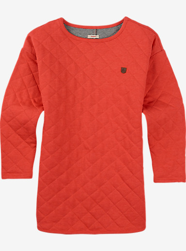 Burton Girls' Starlink Fleece shown in Tropic Heather