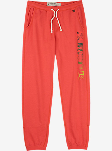 Burton Ambrose Sweatpant shown in Hot Coral