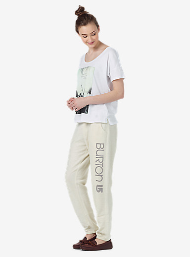 Burton Ambrose Sweatpant shown in Canvas