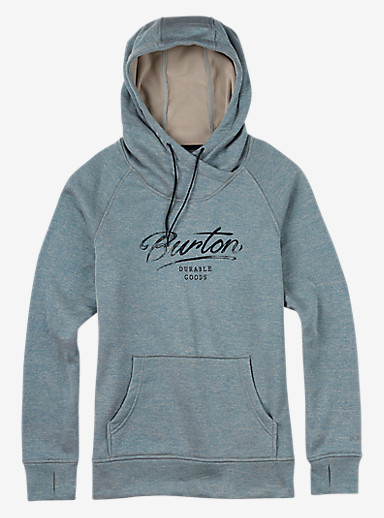 Burton Quartz Pullover shown in Hydro Heather