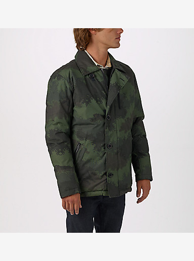 Burton Dawson Jacket shown in Oil Camo