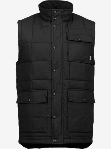 Burton Woodford Vest shown in True Black