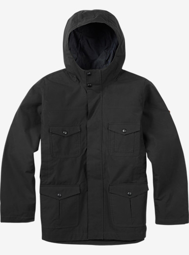 Burton Boys Match Jacket shown in True Black