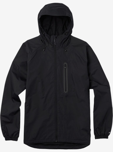 Burton Portal Rain Jacket shown in True Black [bluesign® Approved Fabric]
