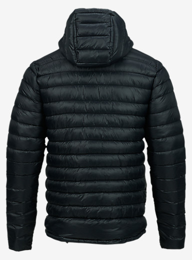 Burton Evergreen Hooded Synthetic Insulator shown in True Black