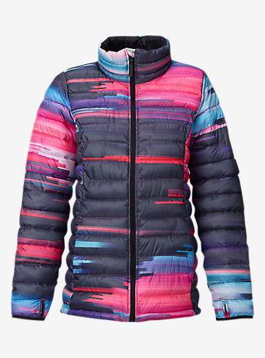 Burton Women's Evergreen Synthetic Insulator shown in Flynn Glitch