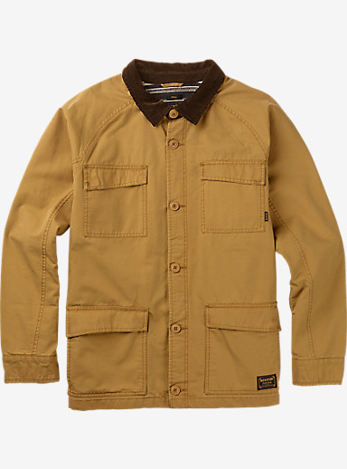 Burton Delta Jacket shown in Wood Thrush