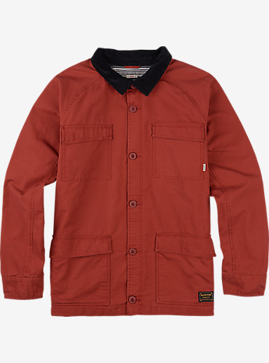 Burton Delta Jacket shown in Red Ochre