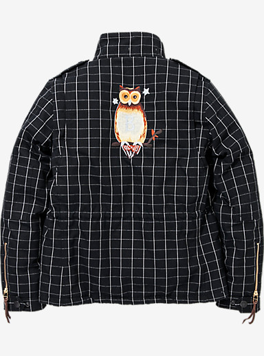 BURTON x NEIGHBORHOOD M-65 Jacket shown in Black