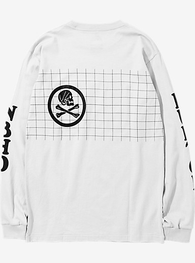 BURTON x NEIGHBORHOOD Grid Long Sleeve T Shirt shown in White