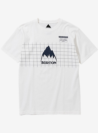 BURTON x NEIGHBORHOOD Grid Short Sleeve T Shirt shown in White
