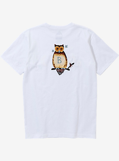 BURTON x NEIGHBORHOOD EMB Owl Short Sleeve T Shirt shown in White