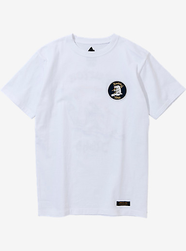 BURTON x NEIGHBORHOOD EMB Bear Short Sleeve T Shirt shown in White