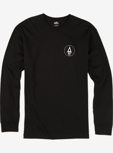 UNDEFEATED x Alpha Industries x Burton XBone Long Sleeve T Shirt shown in Black