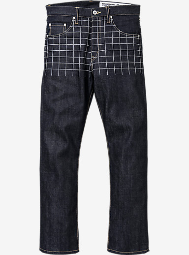 BURTON x NEIGHBORHOOD Rigid DP Mid Pant shown in Indigo