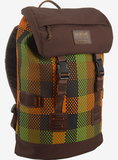 Burton Tinder Backpack shown in Rover Brown
