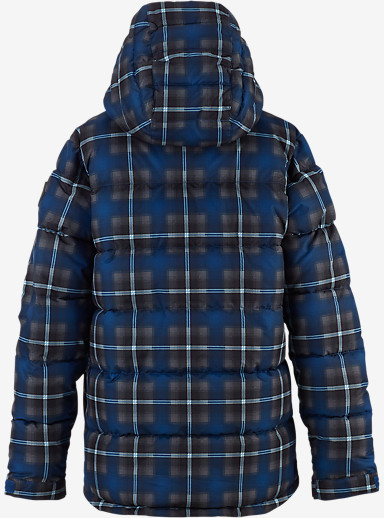 Burton Boys' Traverse Jacket shown in Boro Flynn Plaid