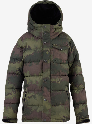 Burton Boys' Traverse Jacket shown in Camo