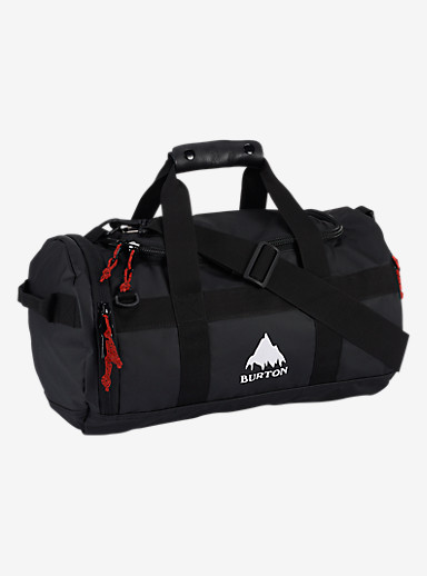 Burton Backhill Duffel Bag X-Small 25L shown in True Black Tarp