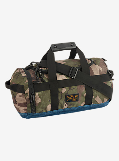 Burton Backhill Duffel Bag X-Small 25L shown in Bkamo Print