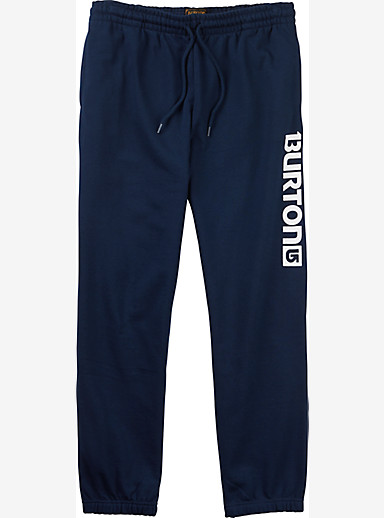 Burton Logo Fleece Pant shown in Indigo