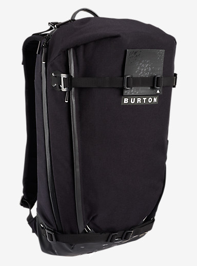 Burton Gorge Pack shown in True Black Cordura®