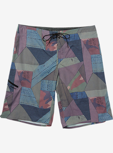 Burton Bridgewater Boardshort shown in Fabric Geo [bluesign® Approved Fabric]