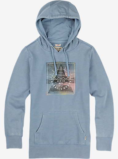 Burton Rosko Pullover Hoodie shown in Faded Heather
