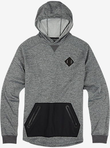 Burton Caption Pullover shown in Medium Heather