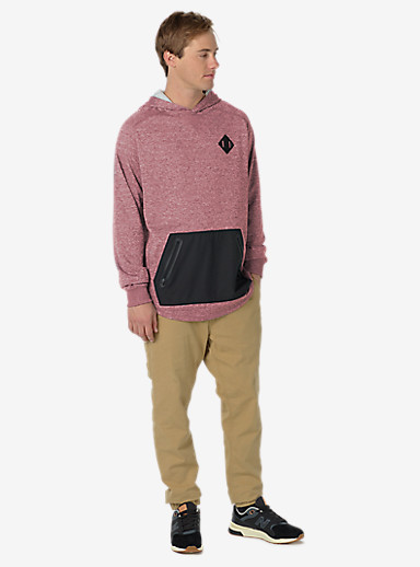 Burton Caption Pullover shown in Wino Heather
