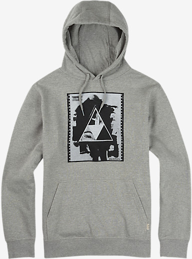 Burton Stockman Pullover Hoodie shown in Gray Heather