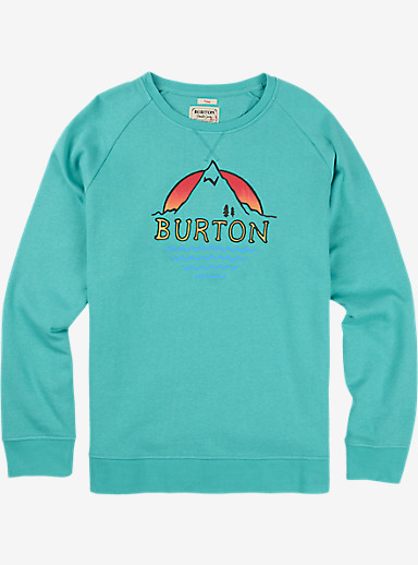 Burton Panorama Crew Pullover shown in Eventide
