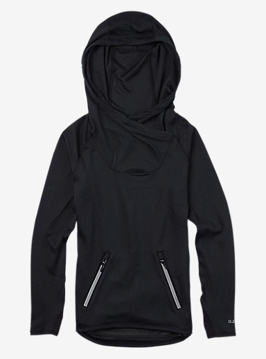 Burton Crystal Pullover Hoodie shown in True Black