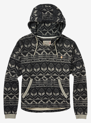 Burton Favorite Pullover Hoodie shown in Carter