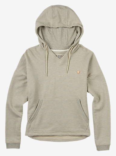 Burton Favorite Pullover Hoodie shown in Dove Heather