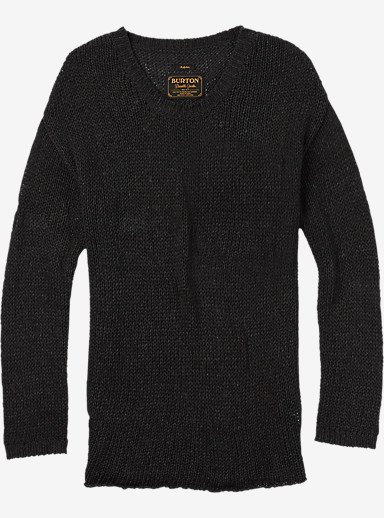 Burton Nicki Sweater shown in True Black Heather