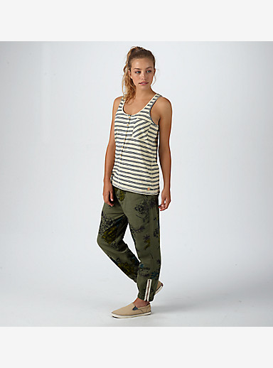Burton Salvador Tank shown in Canvas Heather Norwich Stripe