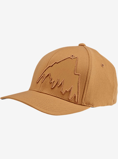 Burton Slidestyle MTN Flex Fit Hat shown in Wood Thrush