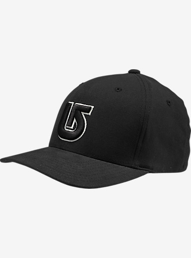 Burton Boys' Striker Flex Fit Hat shown in True Black
