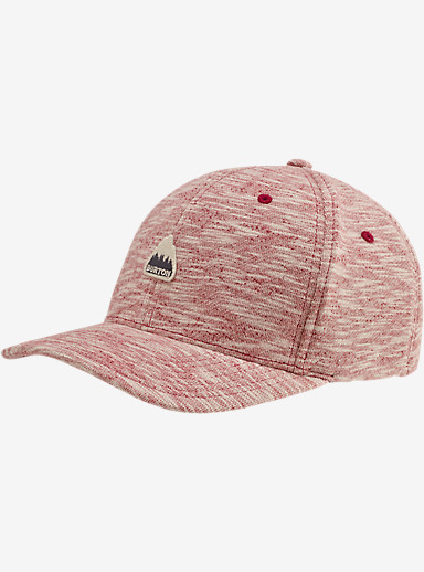 Burton Ace Flex Fit Hat shown in Brick Red